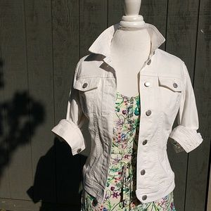 Universal Thread White Denim Jacket